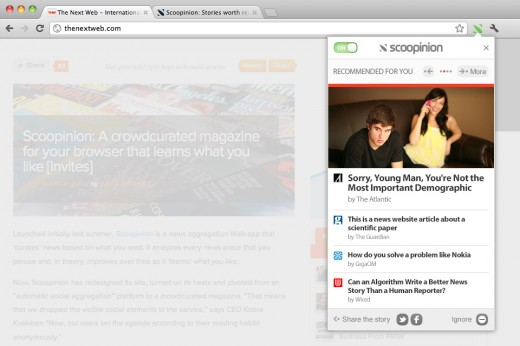 Scoopinion 520x346 Scoopinion: The crowdcurated online magazine launches to the public