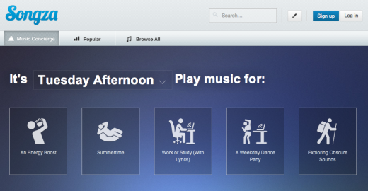 Screen Shot 2012 08 07 at 4.03.15 PM 520x270 Songza partners with Re:Sound to expand its music service beyond the US into Canada