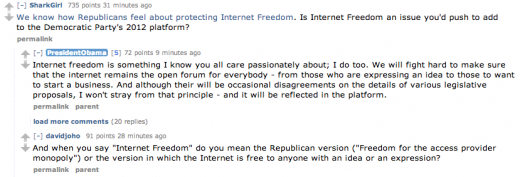Screen Shot 2012 08 29 at 4.39.38 PM 520x177 Reddit goes legit, hosting an AMA with U.S. President Obama [Updated]