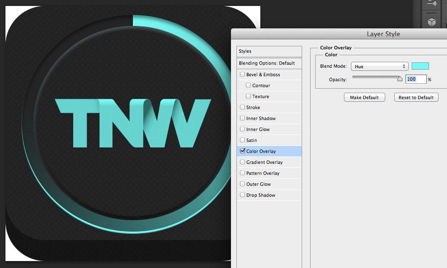 TNWTron SC14 How to create an awesome Tron inspired app icon