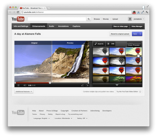 VideoEditing 1 YouTube updates its video editing interface, adds new features like real time interactive preview