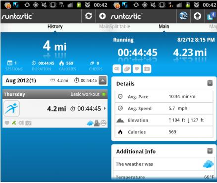 a4 Runtastic for Android now lets you replay your run in 3D video, with Google Earth integration