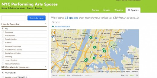 b14 520x260 This Web app is an OpenTable for NYC artists in search of rehearsal space