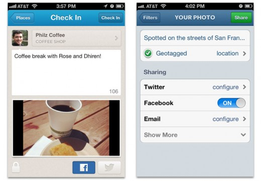 Facebook now lets third party apps post explicitly shared items just like a user, driving engagement