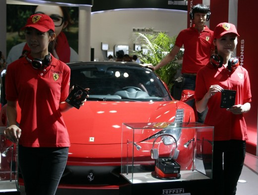 ferrari 520x393 The second annual Macworld Asia event kicks off in Beijing
