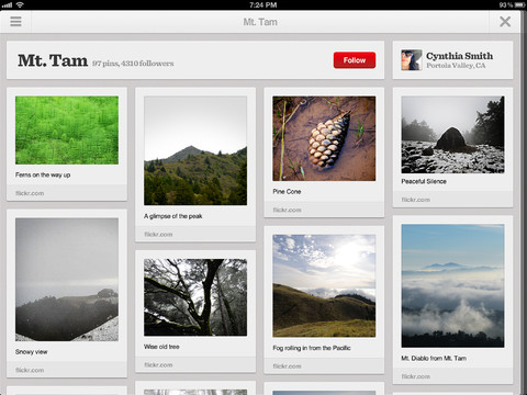 Pinterest launches iPad and Android apps