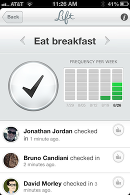 photo 5 Obvious Co. backed Lift is a thoughtful and sharply designed app that helps you build good habits