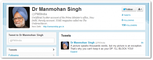 pm0india 520x204 Twitter cedes to government demands, blocks fake accounts in India (Update: No, its ISPs)