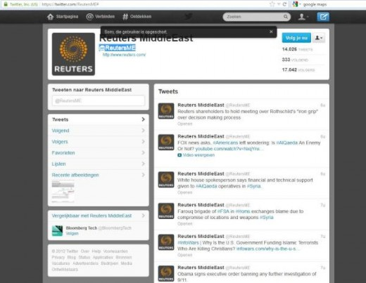 reutershack 520x403 Reuters suffers second hack, as Twitter account posts pro Syrian government messages