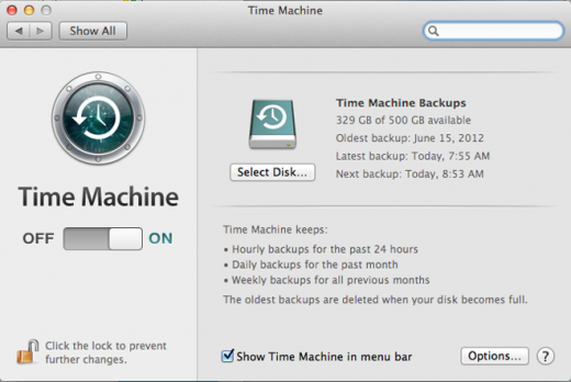 timemachine 520x348 Bulletproof backup: How to make sure your desktop, mobile & web data are safe