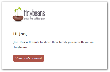 tinybeans4 Tinybeans is a digital journal dedicated to photos of your child