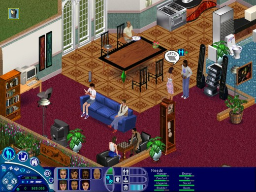 ts1 520x390 EA to Zynga: Enough already, The Ville is The Sims and were going to sue you