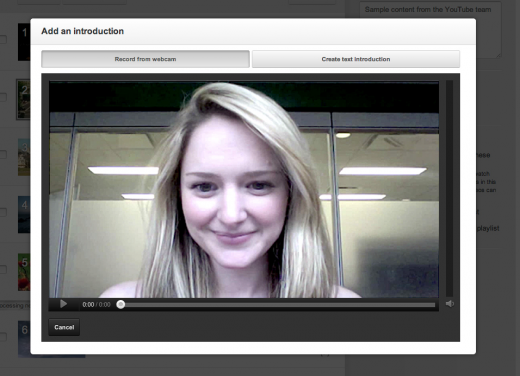 webcam.fw  520x376 YouTube makes it easier for playlist creators to tell a story with new intro and outro feature