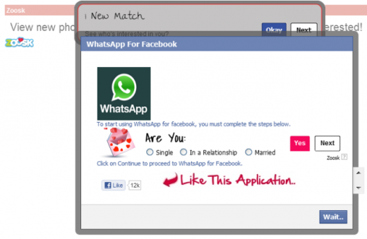 whatsapp1 520x339 Scam alert: Watch out for WhatsApp requests on Facebook