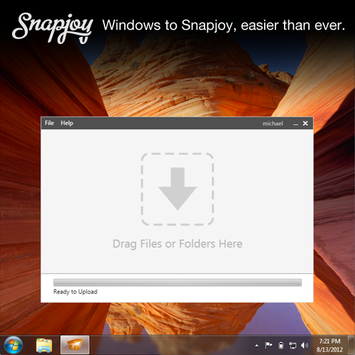 windows shoebox graphic Snapjoy launches new importing tool: Nows the time to call it your favorite photo service