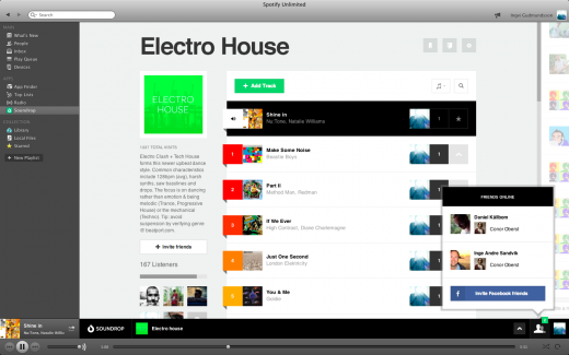 07 room friends 520x325 Fresh from its $3m funding round, Soundrop gives its social Spotify app a major lick of paint