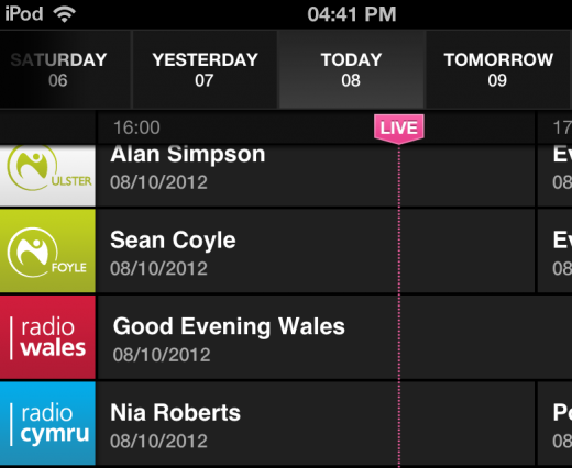 72 520x426 The BBCs new iOS iPlayer Radio app is available now, heres our full hands on review