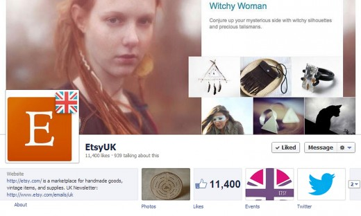 Etsy UK FB 520x312 Etsy targets the UK market with 2 million uniques per month and 3 million sales set for the holiday season