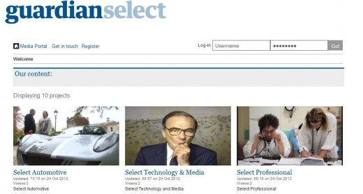 Screenshot 25 520x279 GNM taps Rightster to launch Guardian Select Video, a syndication portal to monetize digital video