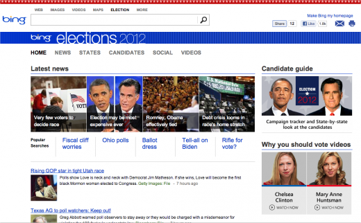 Snap 2012 10 26 at 01.29.20 520x322 Microsoft launches Bing Elections to curate news, results, and social media insights