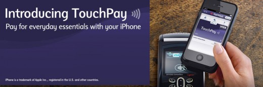 TouchPay Natwest page 520x173 Visa, RBS and NatWest team up to launch NFC payments accessory for iPhone 4 and 4S