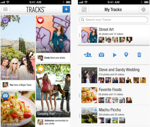 a1 520x440 Tracks launches version 2.0 of its social photo app with new content surfacing features, hits Android too
