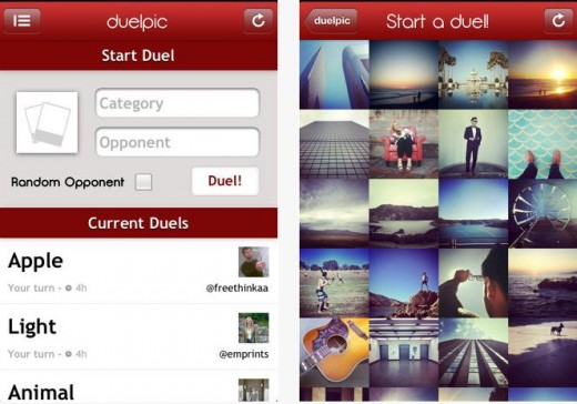 a8 520x364 Let battle commence: This iOS app lets you challenge other Instagramers to see who has the best photos