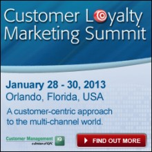 customer loyalty marketing summit 250x250 220x220 Upcoming tech and media events from around the globe