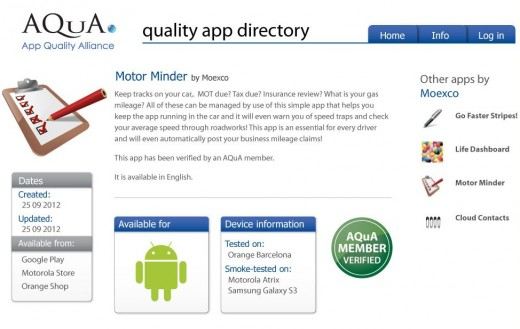 directory app image 520x329 Mobile industry backed App Quality Alliance launches its Quality App Directory for developers