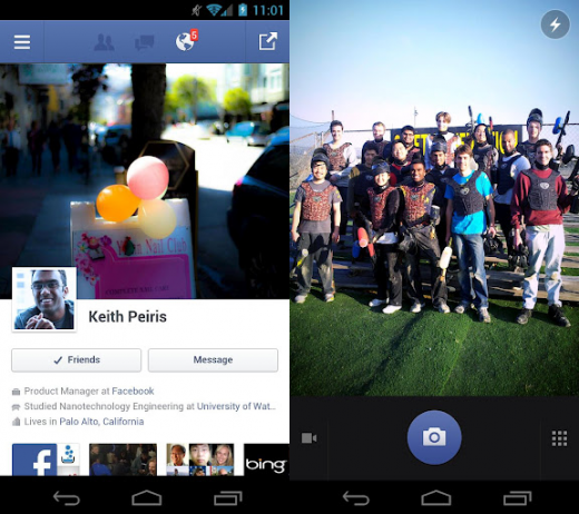 fb messenger android 520x462 Facebook for Android speeds up photo tagging, lets you pick album before uploading photos