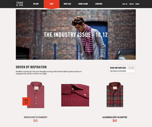 frankandoak1 Online fashion retailer Frank & Oak raises $5 million in Series A funding round led by Lightbank