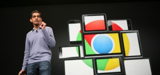 Sundar Pichai, senior vice president of Chrome
