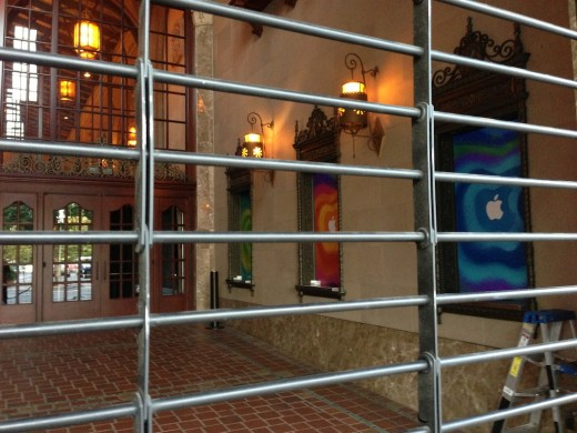 Apple preps California Theatre for Oct. 23 iPad mini event