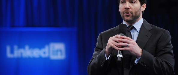 Linkedin CEO Jeff Weiner speaks
