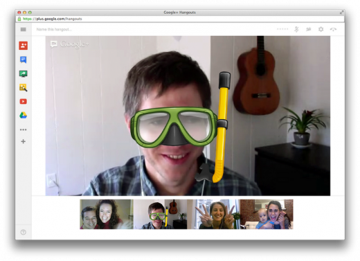 02 520x377 Google+ Hangouts updated with collapsable sidebars, colorful notifications and improved app management