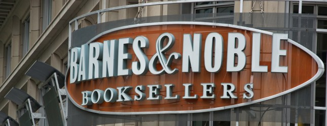 A Barnes & Noble bookstore is seen on Ap