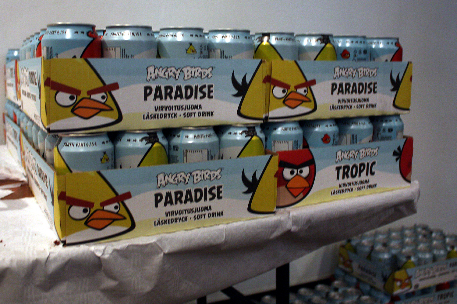 Angry Birds Soda Pop1 March of the Angry Birds. How Rovio is teaching Finnish startups to think big