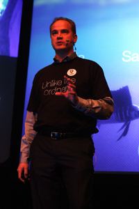 Antti Saarnio Jolla Rock and roll with your friends. How Jolla's personality won the audience at Slush