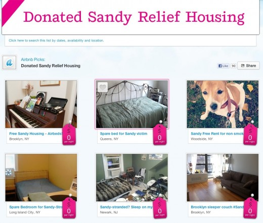 Screen Shot 2012 11 07 at 1.14.17 PM 520x442 Airbnb partners with NYC to provide those displaced by Superstorm Sandy with free places to stay