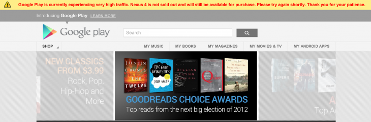 Screen Shot 2012 11 27 at 1.41.02 PM 730x241 Googles second wave of Nexus 4 orders beset by purchasing glitches, sellout notices