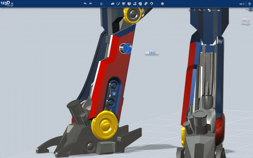 Screen2 520x325 Autodesks new 123D Design app turns everyone into 3D modellers