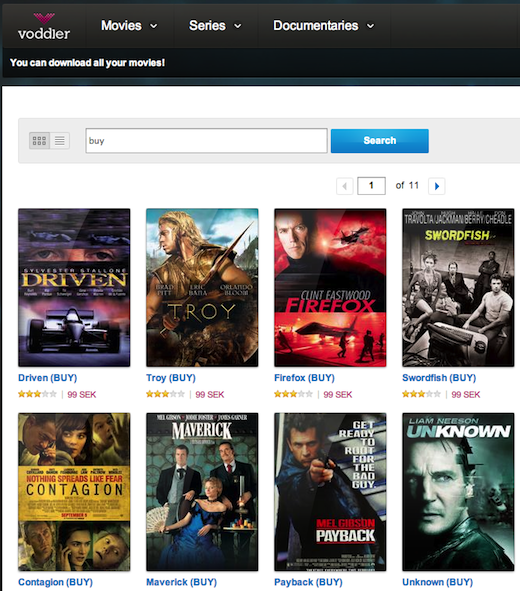 Search results for buy 095952 Scandinavian video on demand firm Voddler now lets users buy movies, access them everywhere