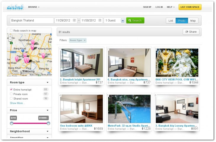 airbnbth 730x482 Airbnb targets 2 million properties in Asia as it begins introducing local customer support