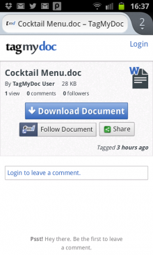 b10 220x366 TagMyDoc takes QR codes and makes them useful with this document tagging and sharing Web app