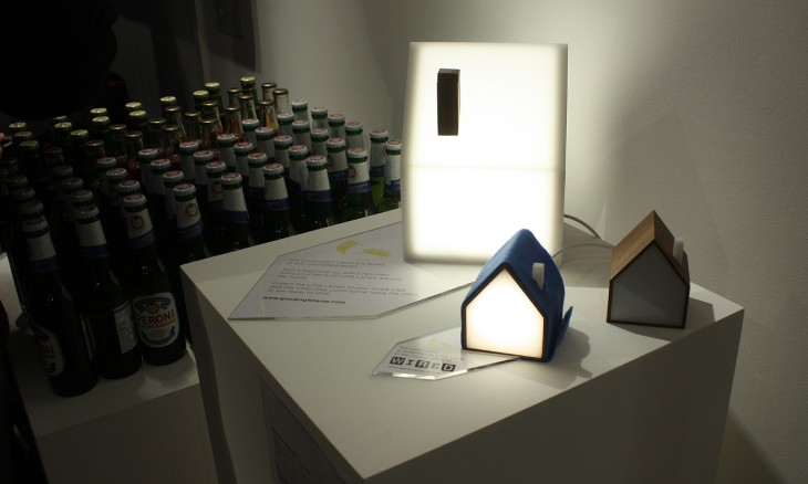 beer and light houses 730x438 Wireds pop up shop opens in London and is packed with geeks like kids in a candy store