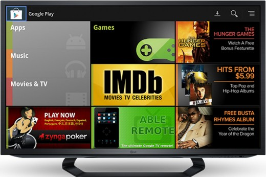 google play tv illustration 520x346 Google Play music and movies arrive for Google TV in Germany, France and the UK on November 13