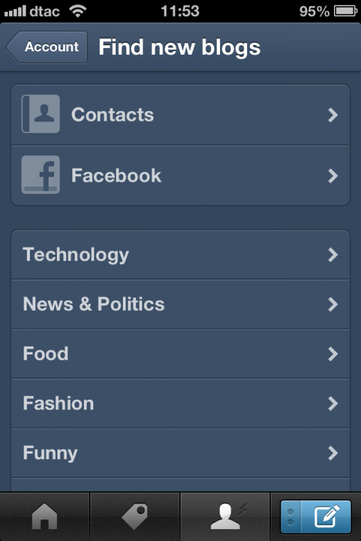 image 21 520x780 Tumblr goes native on iOS with redesigned app featuring new dashboard, notifications and more
