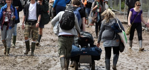 Glastonbury Mud Matt Cardy Getty
