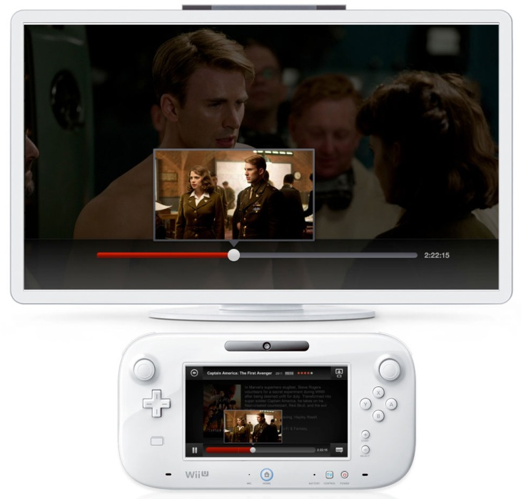 how to watch netflix on wii u gamepad