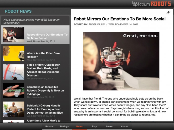 robots 2 730x547 IEEE Spectrum magazine unleashes an app that is prime reading for the robot uprising
